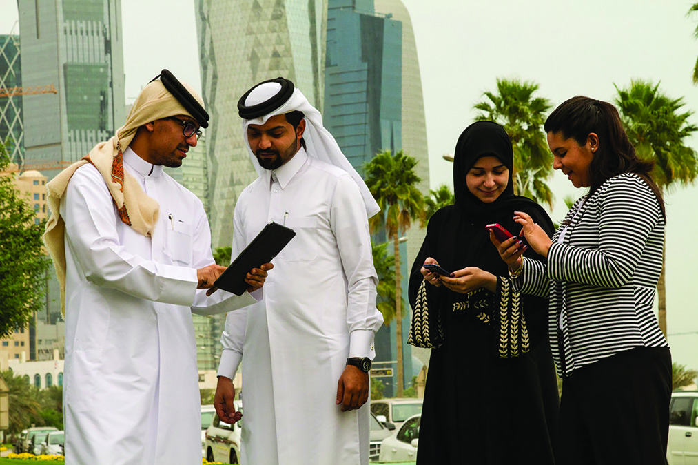 Consumers in Qatar are increasingly benefitting from innovative telecommunication services