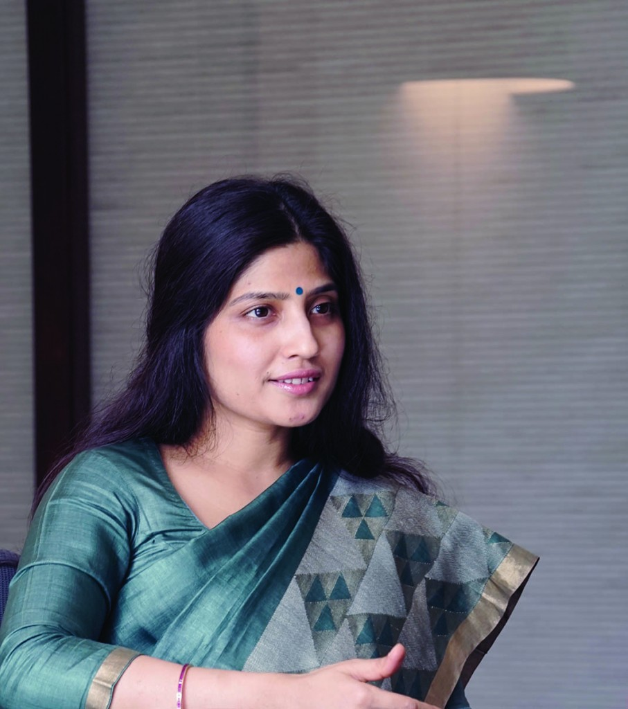 Member of Parliament Dimple Yadav, also wife of the Uttar Pradesh's Chief Minister, is living proof that gender equality is slowly but surely coming to the fore in UP