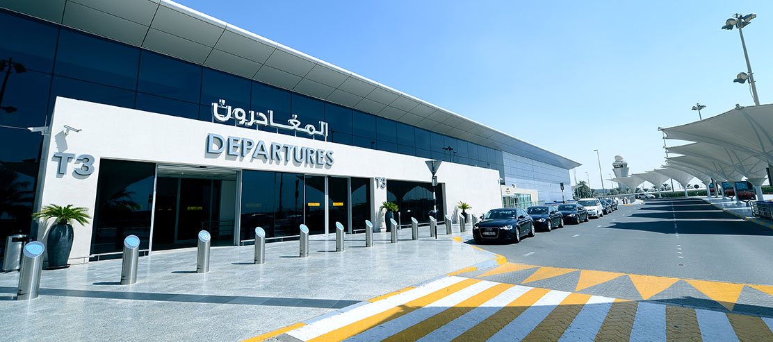 1,113,108 passengers departed from Abu Dhabi International Airport in July